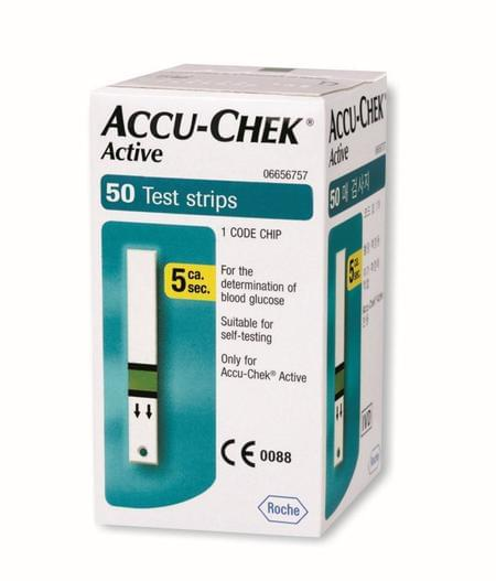 Accu-chek Active 50 Strips
