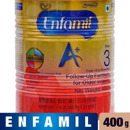 Enfamil A+ Stage 3: Infant Follow-up Formula (12 To 24 Months)- 400g