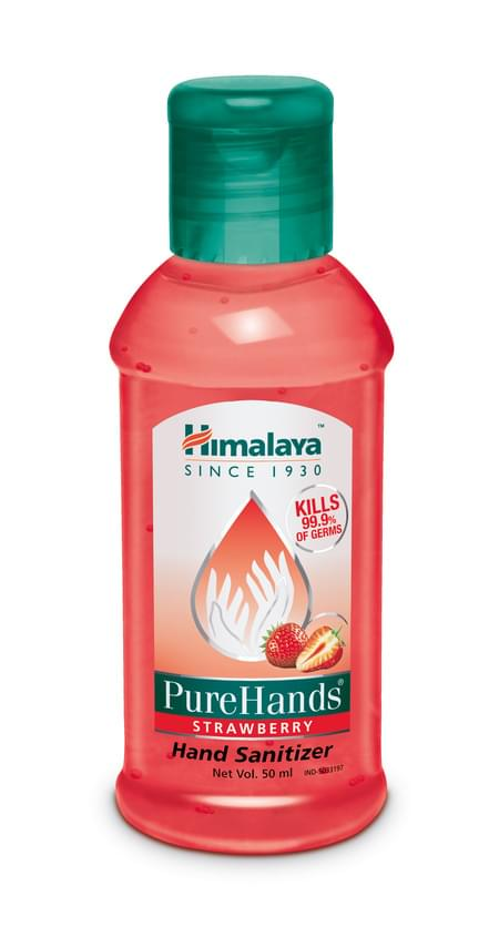 Himalaya Pure Hands Sanitizer Strawberry 50 Ml