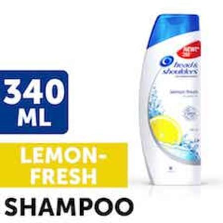 Head & Shoulders Shampoo Lemon Fresh 340 Ml