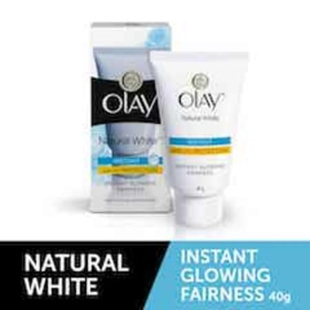Olay Natural White Light Instant Glowing Fairness Skin Cream Serum 40 Gm