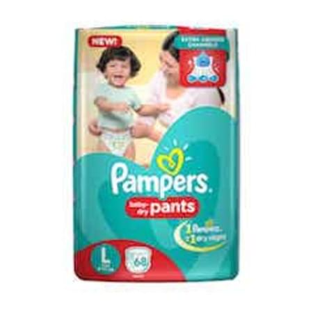 Pampers Diaper Pants Large Size 68 Pieces