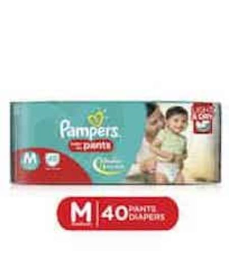 Pampers Diaper Pants Medium Size 40 Pieces