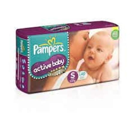 Pampers Active Baby Diapers Small Size 46 Pieces