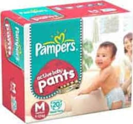 Pampers Diaper Pants Medium 20 Pieces