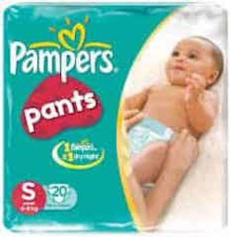 Pampers Diaper Pants Small Size 20 Pieces