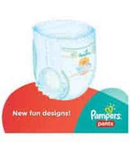 Pampers Diaper Pants Large 2 Pieces