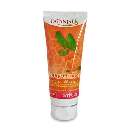 Patanjali Orange Honey Face Wash 60 Gm
